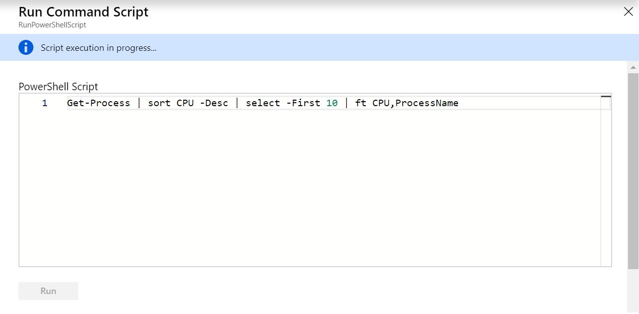Get-Process Run Command